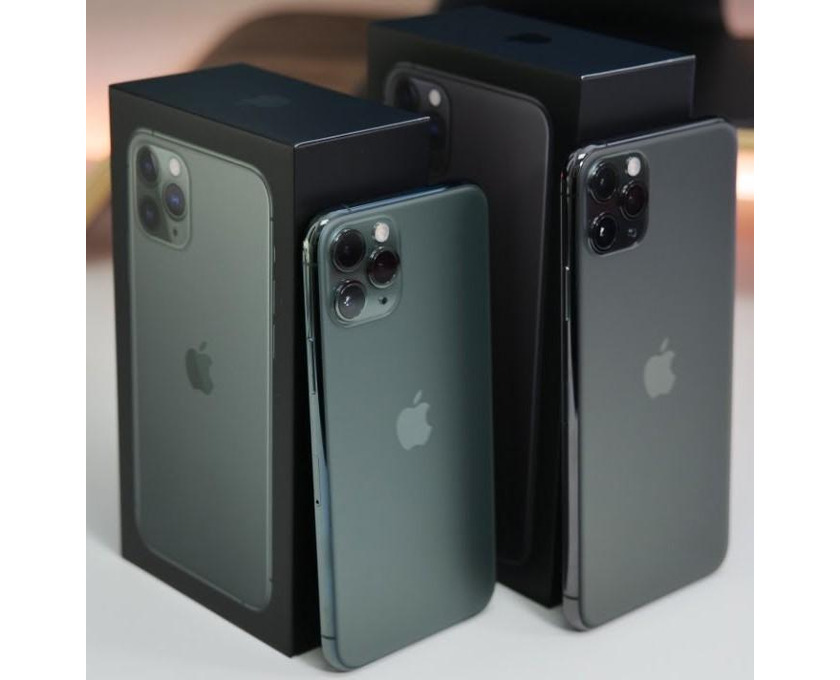Apple iPhone 11 Pro 64GB = €500,iPhone 11 Pro Max 64GB = €530 ,iPhone XS 64GB =  - 1/5
