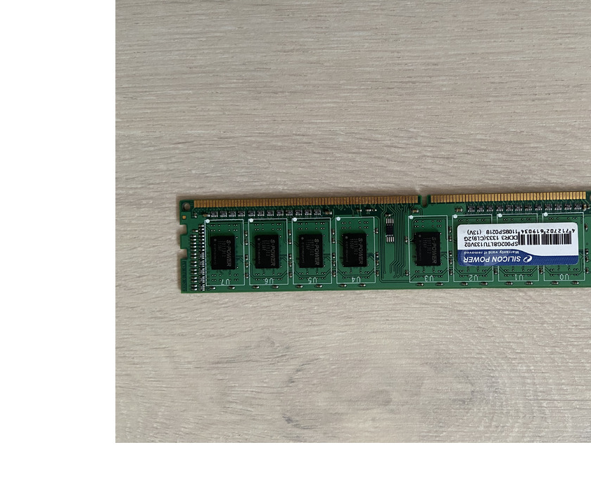 Продавам Silicon Power 2GB DDR3 1333MHz - 1/1