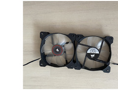 Corsair Air Series SP120 LED Red High Static Pressure 120mm Fan - Изображение 2/3